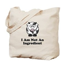 Ingredient Cow Tote Bag