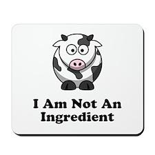 Ingredient Cow Mousepad