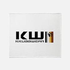 KW BEAR FLAG Throw Blanket