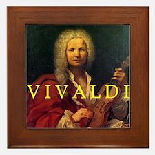 Antonio Vivaldi 1723 Framed Tile