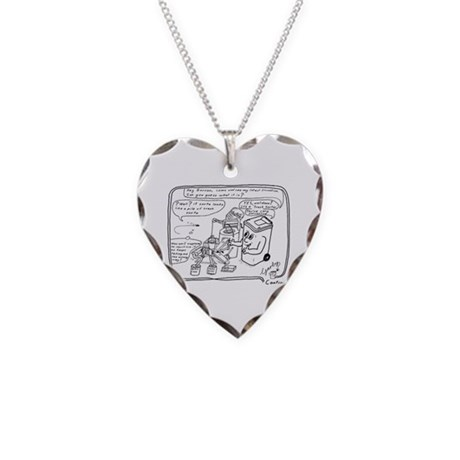 Automation 1 Necklace Heart Charm