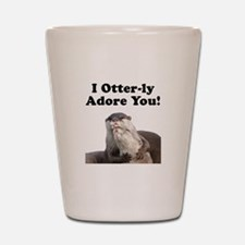 Otterly Adore Shot Glass