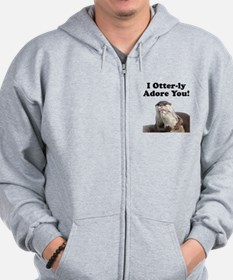 Otterly Adore Zip Hoodie