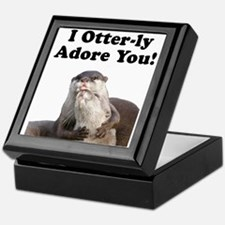 Otterly Adore Keepsake Box