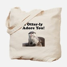 Otterly Adore Tote Bag