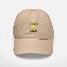 German Chick Baseball Baseball Cap