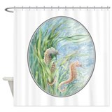 Seahorse Shower Curtains