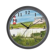 Assateaque Light Wall Clock