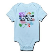 Blank Canvas Infant Bodysuit
