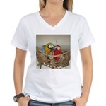 Maui (Scarlet) Korbel (BG) Women's V-Neck T-Shirt