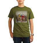 Maui (Scarlet) Korbel (BG) Organic Men's T-Shirt (