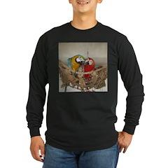 Maui (Scarlet) Korbel (BG) Long Sleeve Dark T-Shir