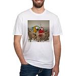 Maui (Scarlet) Korbel (BG) Fitted T-Shirt