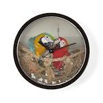 Maui (Scarlet) Korbel (BG) Wall Clock