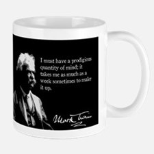 Mark Twain, Funny - Make Up My Mind, Mug
