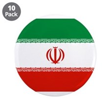 "Iran Flag 3.5"" Button (10 pack)"