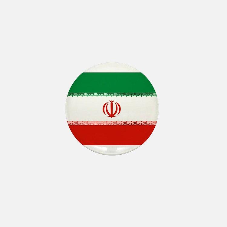 Iran Flag Mini Button