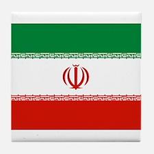 Iran Flag Tile Coaster