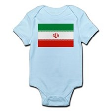 Iran Flag Infant Bodysuit