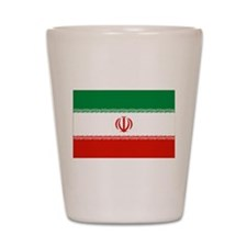 Iran Flag Shot Glass