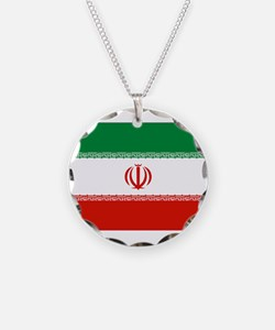 Iran Flag Necklace