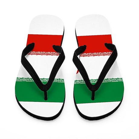 Iran Flag Flip Flops