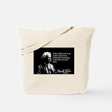 Mark Twain, Cincinnati, Tote Bag