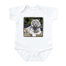 White Tiger 9 Infant Bodysuit