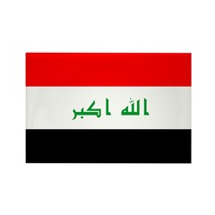 Iraq Flag Rectangle Magnet (10 pack)