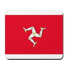 Isle of Man Flag Mousepad