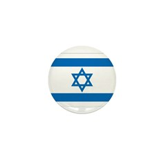 Israel Flag Mini Button (100 pack)