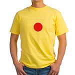 Japan Flag Yellow T-Shirt
