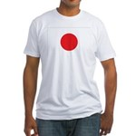 Japan Flag Fitted T-Shirt