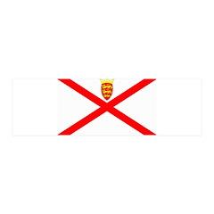 Jersey Flag 21x7 Wall Peel