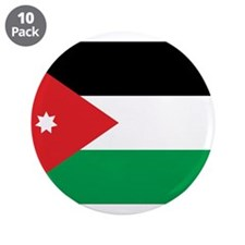 "Jordan Flag 3.5"" Button (10 pack)"