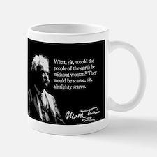 Mark Twain, Man Without Woman, Mug