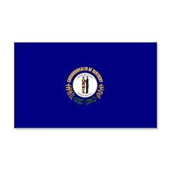 Kentucky Flag 22x14 Wall Peel
