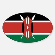 Kenya Flag Decal