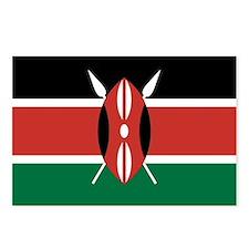 Kenya Flag Postcards (Package of 8)