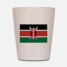 Kenya Flag Shot Glass