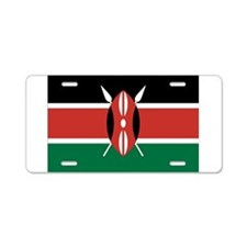 Kenya Flag Aluminum License Plate