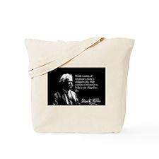 Mark Twain, Work and Play, Tote Bag