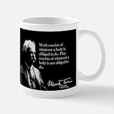 Mark Twain, Work and Play, Mug