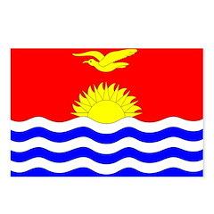 Kiribati Flag Postcards (Package of 8)