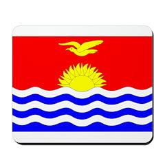 Kiribati Flag Mousepad