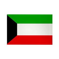 Kuwait Flag Rectangle Magnet (100 pack)