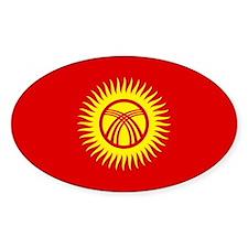 Kyrgyzstan Flag Decal