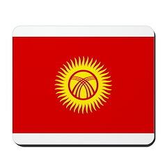 Kyrgyzstan Flag Mousepad