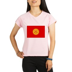 Kyrgyzstan Flag Performance Dry T-Shirt