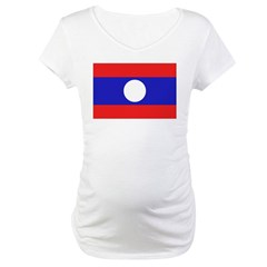 Laos Flag Shirt